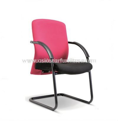 SKILL VISITOR CHAIR WITH EPOXY BLACK CANTILEVER BASE ASE 2195