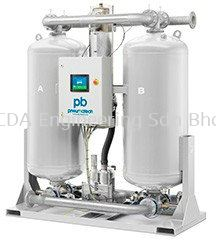 PB blower purge desiccant dryers