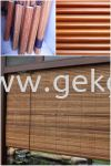 CUR 005 - 亚答帘(定做) Bamboo Blind Blind and Curtain