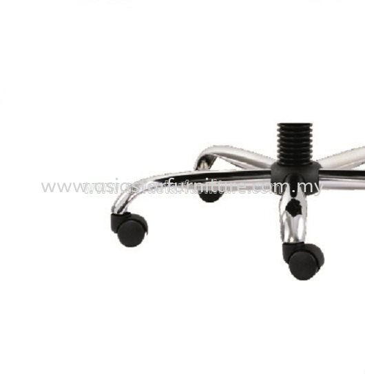 MIGHT SPECIFICATION - STEEL CHROME BASE GUARANTEED FOR DURABILITY AND STRENGTH
