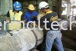 Pouring in Castable After Finish Setting Mould  Cement Industries
