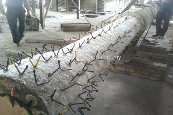 Anchoring System & Ceramic Fibre Works