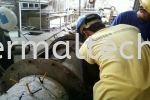 Installing Steel Mould Before Casting  Cement Industries
