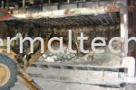 Demolishing The 20 Tons Furnace Cable Industries Aluminium Industries