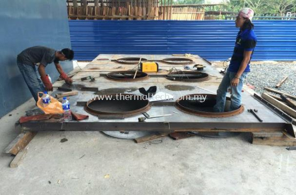 Fabrication of Cooler