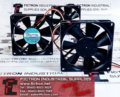 3108NL-04W-B59 12VDC NMB Cooling Fan Supply Malaysia Singapore Thailand Indonesia Philippines Vietnam Europe & USA