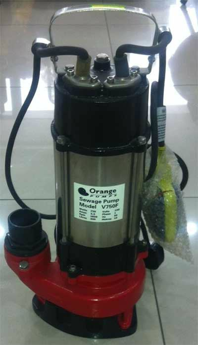 Orange V750F / V1100F Submersible Pump