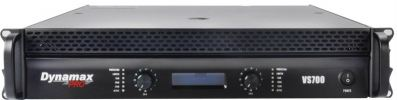 PA-DP-VS700 VS Series Dynamax Professional Stereo Amplifier