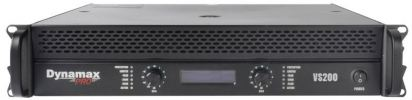 PA-DP-VS200 VS Series Dynamax Professional Stereo Amplifier
