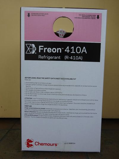 CHEMOURS FREON 410A X 10KGS HFC REFRIGERANT GAS (CHINA)