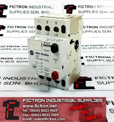 140-MN-1600 AB ALLEN BRADLEY Motor Starter - Circuit Breaker 16A 600V 3Ph Supply Malaysia Singapore Thailand Indonesia Philippines Vietnam Europe & USA