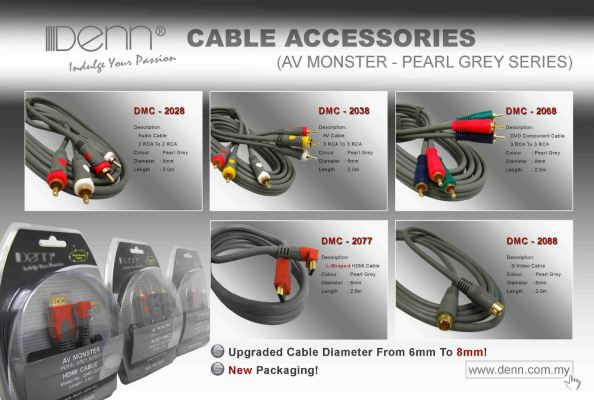 Pearl Grey AV Monster Series