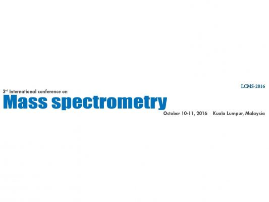 3rd International Conference On Mass Spectrometry