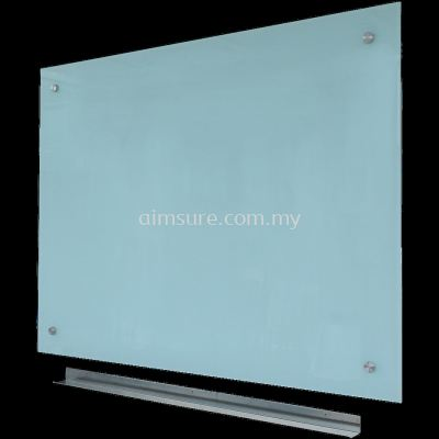Frameless tempered glass writing panel