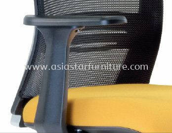 TALENT SPECIFICATION - FASHIONABLE J SHAPE PP ARMREST ENSURING ARM SUPPORT COMFORT