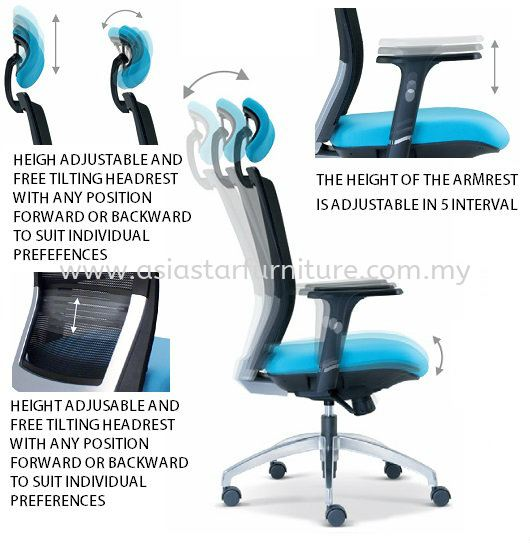 TALENT SPECIFICATION - AESTHETICS ERGONOMICS AND FUNCTION PROVIDE A MAXIMUM PERFORMANCE AND COMFORT IN EVERY SEATING POSITION