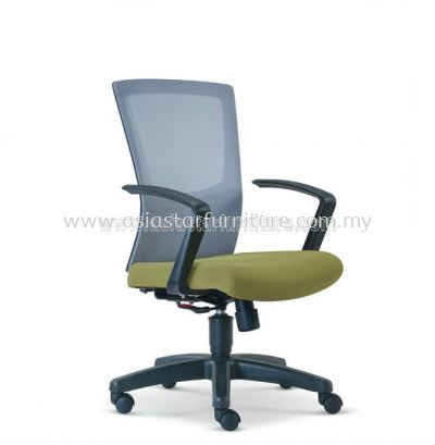 VICTORY MESH LOW BACK CHAIR WITH PP BASE ASE2686