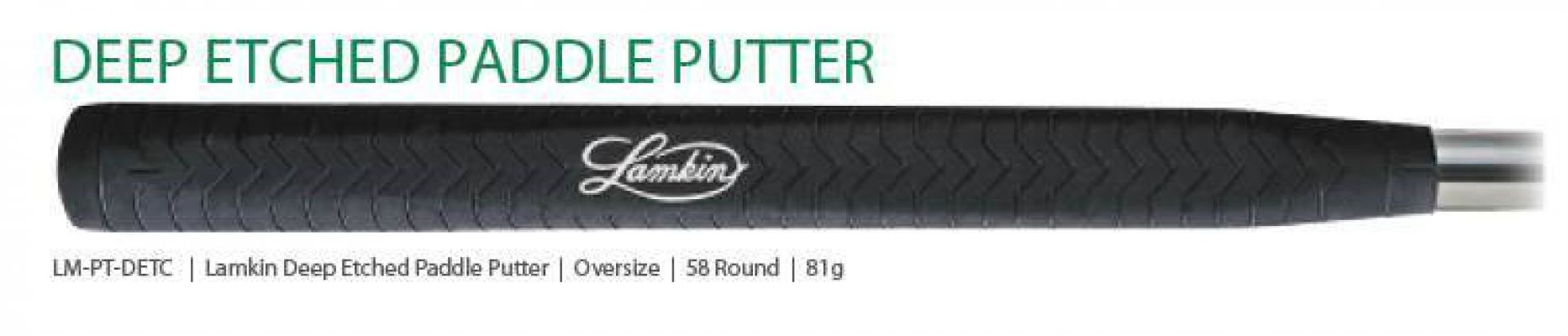 Lamkin Deep Etched Paddle Putter Grips