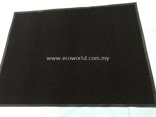 3'X4' Standard Coil Mat (Plain)-Brown