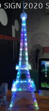 Effiel Tower with LED light Gift , Souvenir , A memory Acrylic Souvenir Display