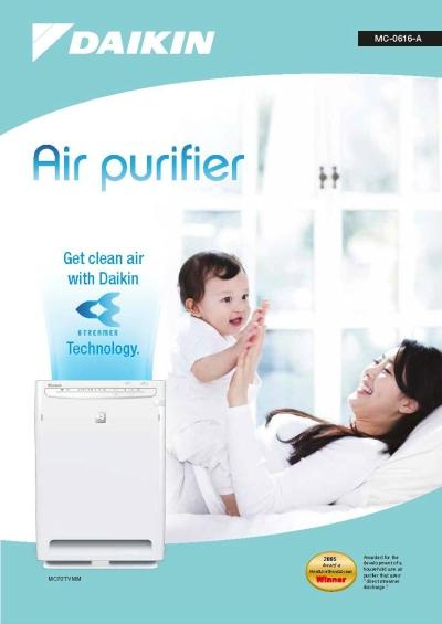 Daikin Streamer Air Purifier
