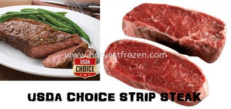 NEW ARRIVAL- USDA CHOICE STRIP STEAK