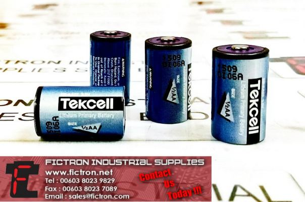 SB-AA02 3.6V TEKCELL 1/2 AA Lithium Primary Battery Supply Malaysia Singapore Thailand Indonesia Philippines Vietnam Europe & USA