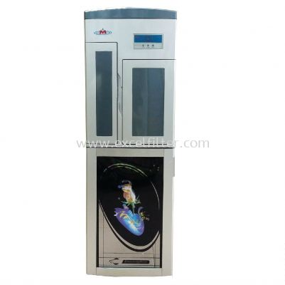 (FS-HC-C1-38-1) Hot Cold Floor Standing Water Dispenser-Pipe In
