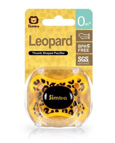 SIMBA LEOPARD THUMB SHAPE PACIFIER 0M+