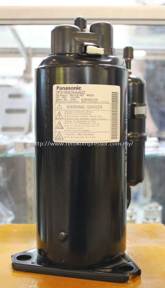 PANASONIC MALAYSIA AIR CONDITIONER COMPRESSOR MODEL 2PS164D5AA02
