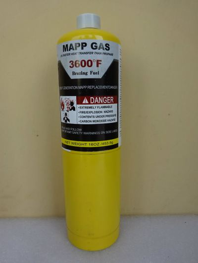 MAPP GAS GTR-79 X 16OZ./453.6G 3600 ��F (12-CAN/BOX) - (CHINA)