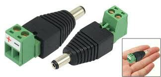 DCPM01 - DC Plug-Male (Screw-on type)