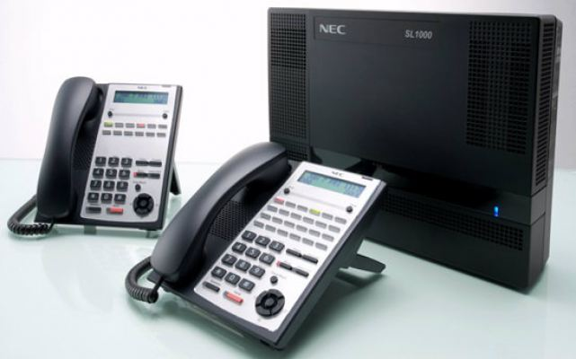 SL1000 PKG A - NEC Keyphone SL1000 (Package 408 1+3)