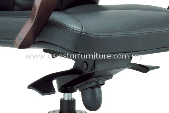 FORTUNE SPECIFICATION - THE UNIQUE IMPORTED KNEE-TILT SYNCHRONIZED ADJUSTABLE MECHANISM WITH LOCKING SYSTEM ASSURES MAXIMUM LUMBER SUPPORT SPINE
