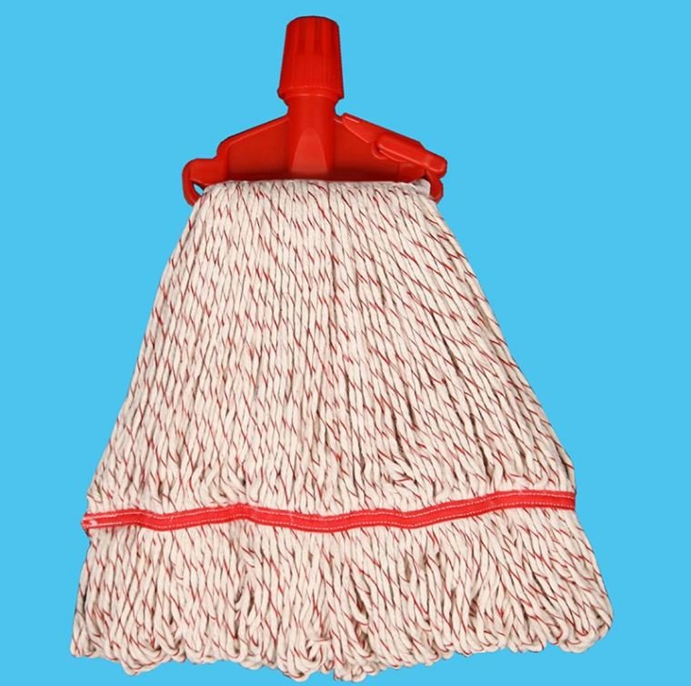 Poly/Cotton Mixed Colour Kentucky Mop with Clip Kentucky Mop / Fan Mop Arona Mop Products
