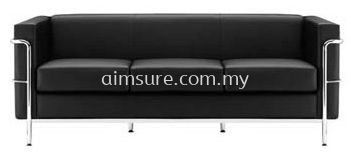 Arfino 3 Seat Office Sofa (AIM015-3)