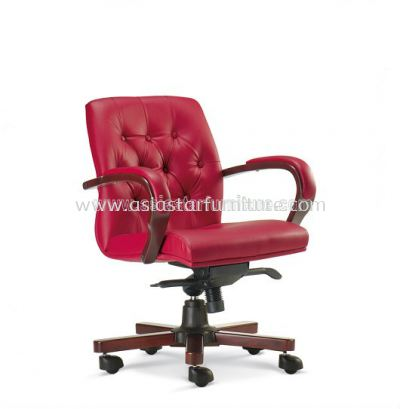 RITZ WOODEN LOW BACK CHAIR ASE1053