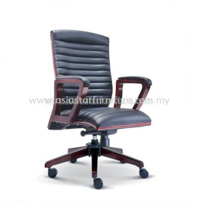 GENTLY WOODEN MEDIUM BACK CHAIR ASE2332