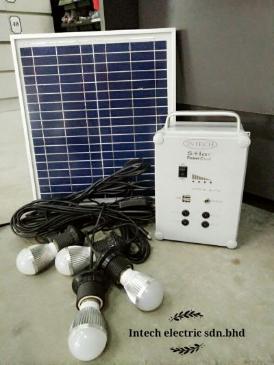 Solar Power Bank 18v 15w c/w set