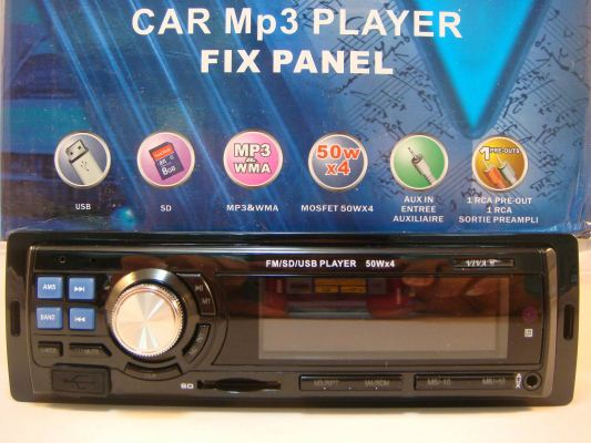 805 MP3/ FM/USB PLAYER (S/N: 000903)