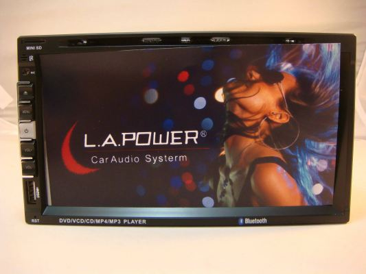 "2 DIN L.A.POWER 9219TV 6.95"" DVD MONITOR(S/N: 000090)"