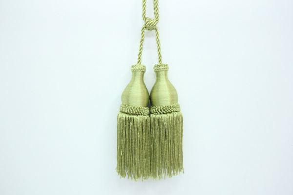 CK Plain Color Curtain Tassel (Small) Green