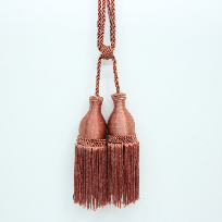 CK Plain Color Curtain Tassel (Small) Bronze