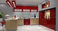 Polymer Series Polymer Series Meida Custom Made Kitchen Cabinet