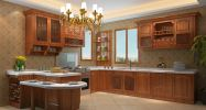 Solid Wood Series Solid Wood Series Meida Custom Made Kitchen Cabinet