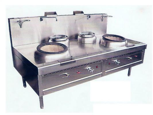 2 Hole Kwali Range + 2 Soup Ring & 2 Nos Soup Pot (Blower)