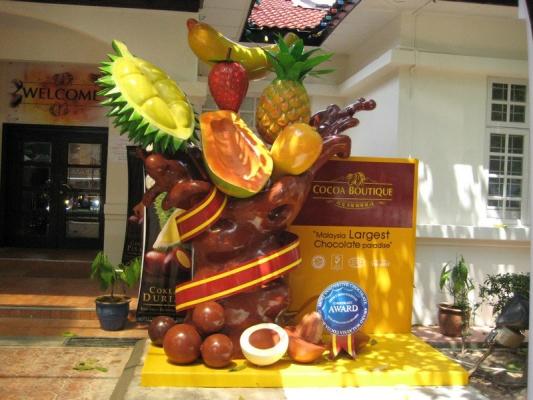 Malaysia Fruits Sculpture