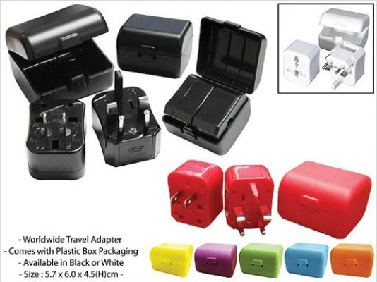 Compact Travel Adapter