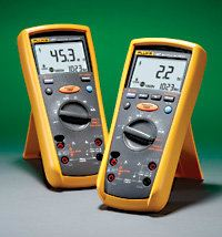 Fluke 1587/1577 Insulation Multimeters Earth Ground Testers Fluke