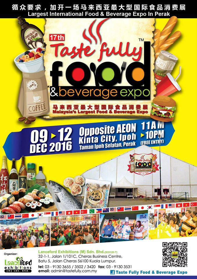 17th Taste Fully Food & Beverage Expo December 2016 Year 2016 Past Listing